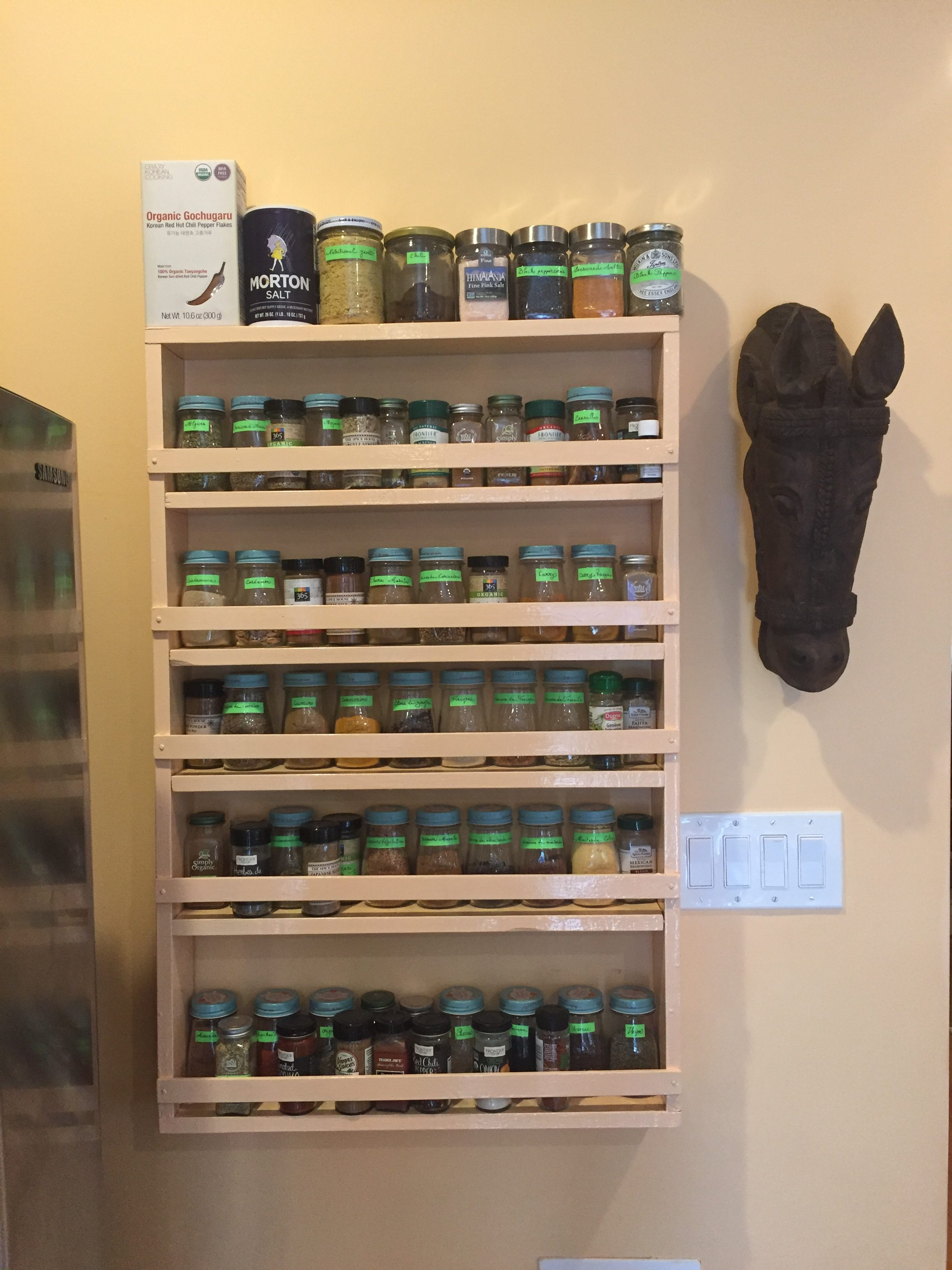 Pantry Makeover Spices